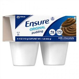 Ensure Pudding Chocolate 4oz Cup 54846 Pack of 4
