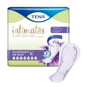 TENA Intimates™ Overnight Incontinence Pads, Maximum Absorbency, 54282 Case of 84