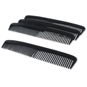 "Dukal Combs, Mens 5"", Black DC5 Pack of 12"