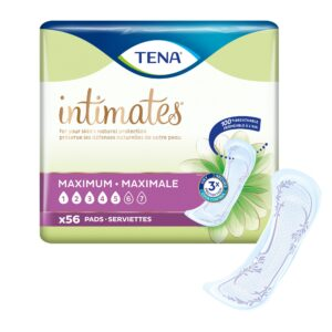 TENA Intimates™ Maximum Absorbency Incontinence Pads, Regular Length, 54267 Case of 168