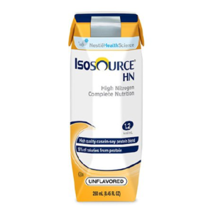 Isosource HN 1.2 Cal Tube Feeding Formula by Nestle - 250ml Carton - Ready to Use - 18450000 Case of 24