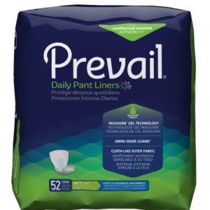 Prevail Daily Bladder Control Pad, Small, Moderate Absorbency Case of 208