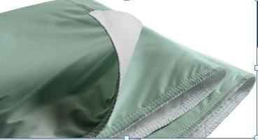 """Underpad Green 29""""x35"""" Cotton/Poly 8oz, UP3436TW Case of 24"""