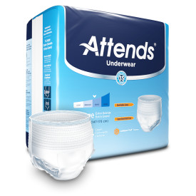 Attends Underwear Extra Absorbency, X-Large Pack of 14