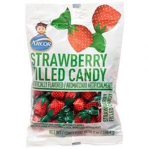 ARCOR STRAWBERRY FILLED 7 OZ - 24 count