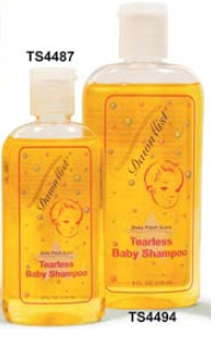 Shampoo, Tearless Baby, 4oz. Bottle with Dispensing Cap - 10 count