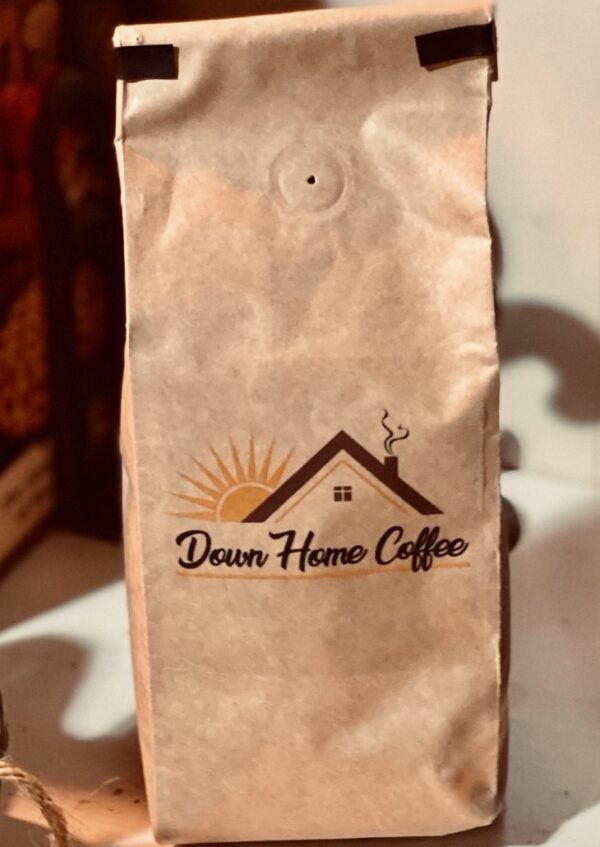 I ♥ Flavored Down Home Coffee 5 pound bulk Pick your Flavor - Kraft bag with one way valve