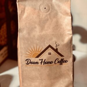 Down Home Coffee 5 pound bulk Pick your Favorite Roast in Ground or Whole Bean - Kraft bag with one way valve
