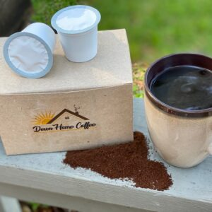 I ♥ FLAVORED COFFEE kcup compatible Pods- 48 total by Down Home Coffee