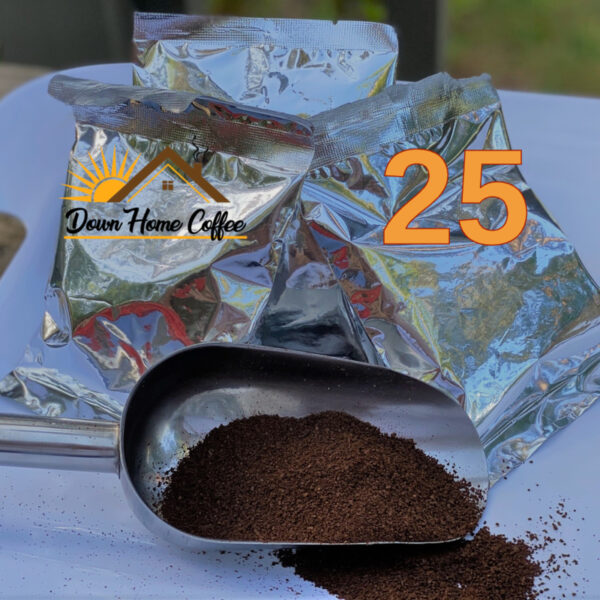 25 Portion Packs from Down Home Coffee 2.75oz per pack