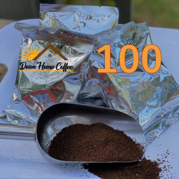100 Portion Packs from Down Home Coffee 2oz per pack
